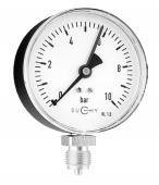 Đồng hồ đo áp suất MR10 63 010; 0bar ... 10bar (Suchy-Đức)
