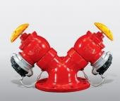Van Góc Pccc Shiyi Chữ Y - Outdoor Fire Hydrant